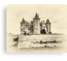 Enchanted Antique Castle Canvas Print