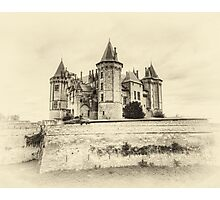 Enchanted Antique Castle Photographic Print