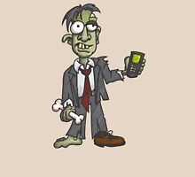 Zombie with Cell Phone Unisex T-Shirt