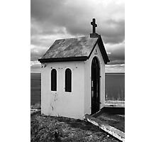 Chapel by the sea Photographic Print