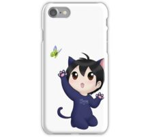 Yuzuru Hanyu chibi kitty iPhone Case/Skin
