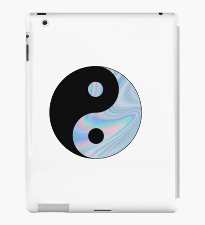 Holographic Yin Yang iPad Case/Skin