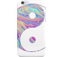 Rainbow Swirl Yin Yang iPhone Case/Skin