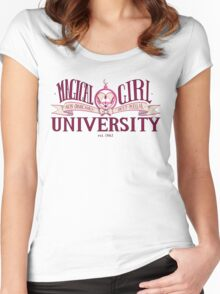 Magical Girl University Women's Fitted Scoop T-Shirt