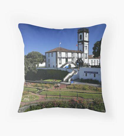 Ribeira Grande, Azores Throw Pillow