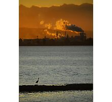 The Sun Is Setting On Civilization Photographic Print