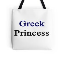 Greek Princess  Tote Bag