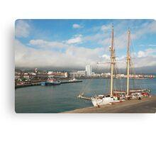HMS Falken Canvas Print