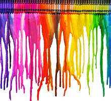 Dripping Crayons by cdanoff