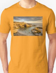 Beavertail Lighthouse at Sunset Unisex T-Shirt