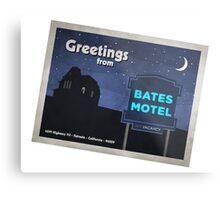 Greetings from Bates Motel! Metal Print