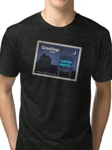 Greetings from Bates Motel! Tri-blend T-Shirt