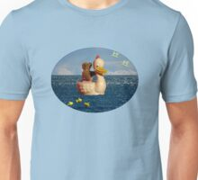 Tiny Teddy and Ducky's Voyage of Adventure Unisex T-Shirt