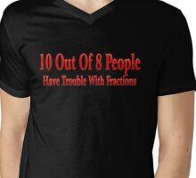 10 Out Of 8 Mens V-Neck T-Shirt