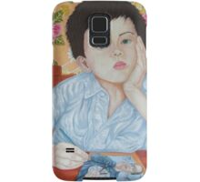 Double Take boy sketching Samsung Galaxy Case/Skin