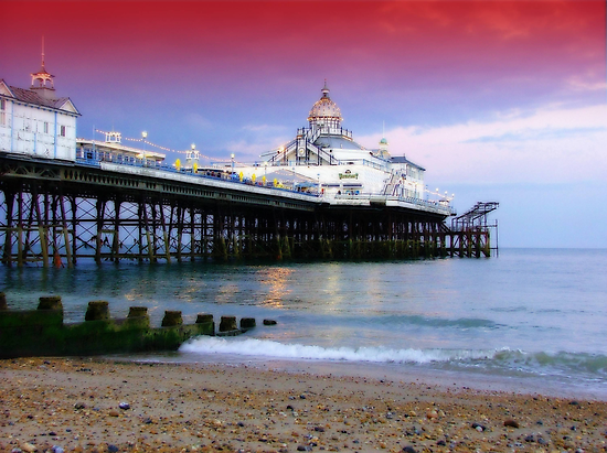 The Pier, Eastbourne  by Colin J Williams Photography