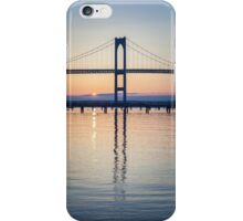 Newport Bridge Sunrise iPhone Case/Skin