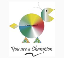 Tommi says You're a Champion Kids Tee