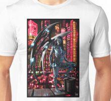 Robot Angel Painting 010 Unisex T-Shirt