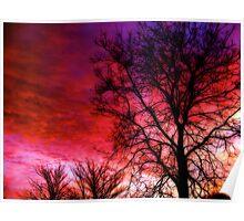 """Colourful Winter Sunrise"" Poster"