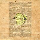Pokemon - Pikachu Dictionary Texture by Aaron Campbell