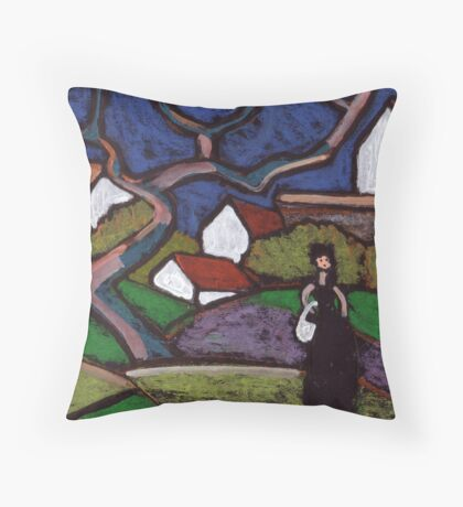 South of France Throw Pillow