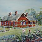 Truganina Explosives Reserve Keepers Quarters 1 by Virginia  Coghill
