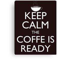 Keep calm 2 Canvas Print