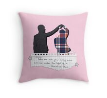 Thinking Out Loud - Dan and Phil Throw Pillow