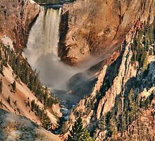 Yellowstone Lower Falls by Stanley Ching
