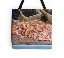 Fresh Raw Langoustine Lobsters Tote Bag