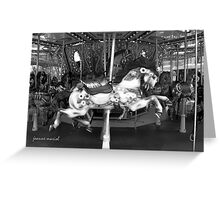 Carousel 17 Greeting Card