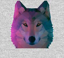 Aurora Wolf Face Hoodie
