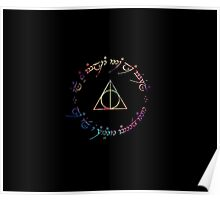 Deathly Hallows Color Poster