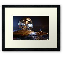 Glass and light Framed Print