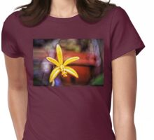 Orchids Womens Fitted T-Shirt