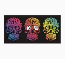 AEPHI Rainbow Skull  by mj-art