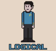 8Bit Spock by The World Of Pootermobile
