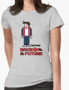 Marty McFly  Womens Fitted T-Shirt