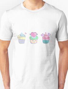 Sweet cupcakes Unisex T-Shirt