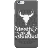 Deaded? - Drunk Deductions iPhone Case/Skin