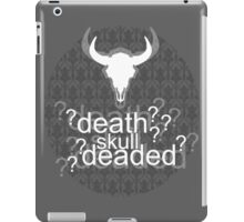 Deaded? - Drunk Deductions iPad Case/Skin