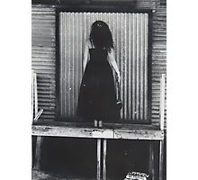 when she was inspired... Photographic Print