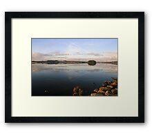 Knockalough Lake Framed Print