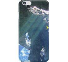 Sun Rays Through the Water iPhone Case/Skin