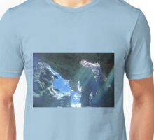 Sun Rays Through the Water Unisex T-Shirt