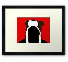 The Bear Hat (YouTuber: CinnamonToastKen) Framed Print