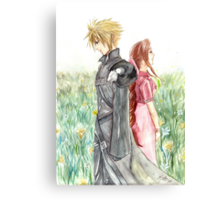 Cloud + Aeris Canvas Print