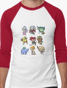 Chrono trigger chibi Men's Baseball ¾ T-Shirt