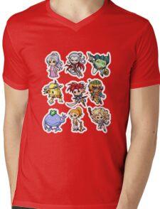 Chrono trigger chibi Mens V-Neck T-Shirt